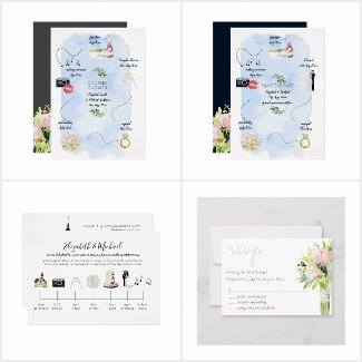 Icon Wedding Timeline Collection