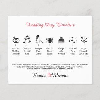 Icon Wedding Timeline Program