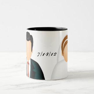 Icon Wedding Two-Tone Coffee Mug