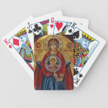 Iconic 15th Century Mary with Christ Child Card Deck