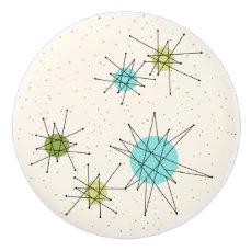 Iconic Atomic Starbursts Ceramic Pull