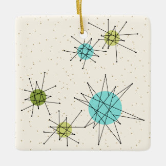 Iconic Atomic Starbursts Christmas Ornament