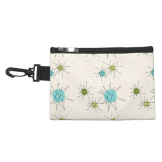 Iconic Atomic Starbursts Clip On Accessory Bag