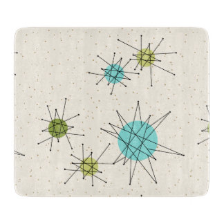 Iconic Atomic Starbursts Cutting Board