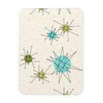 Iconic Atomic Starbursts Flexible Magnet