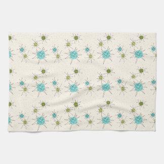 Iconic Atomic Starbursts Kitchen Towels