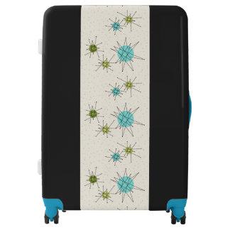 Iconic Atomic Starbursts Luggage Suitcase