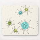Iconic Atomic Starbursts Mousepad