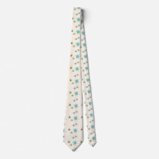 Iconic Atomic Starbursts Neck Tie
