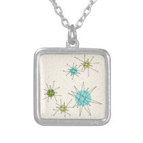 Iconic Atomic Starbursts Necklace