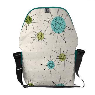 Iconic Atomic Starbursts Rickshaw Messenger Bag