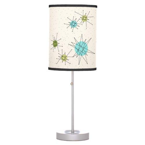 Iconic Atomic Starbursts Table Lamp