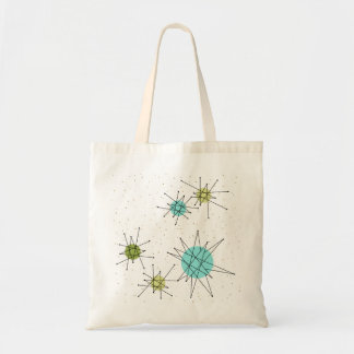 Iconic Atomic Starbursts Tote Bag
