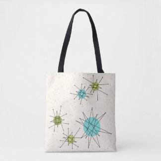 Iconic Atomic Starbursts Tote Bag