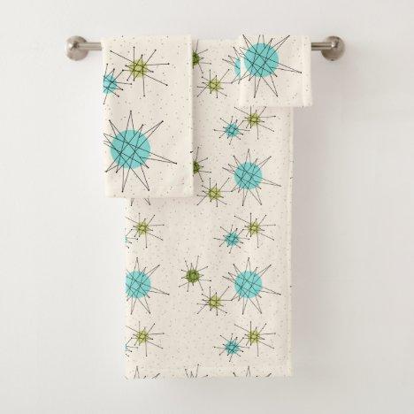 Iconic Atomic Starbursts Towel Set
