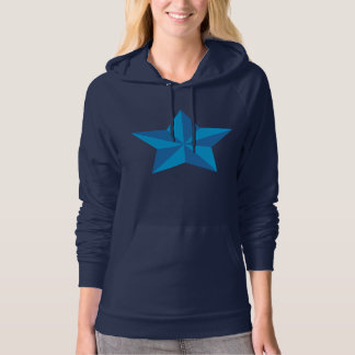 Iconic Blue Star Hoodie