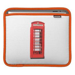 Iconic British Telephone Box iPad Sleeve