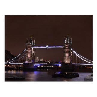 Iconic British Tower Bridge Postcard