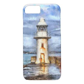 Iconic Brixham Lighthouse Watercolor iPhone 7 Case