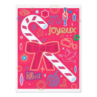 Iconic Candy Cane Card