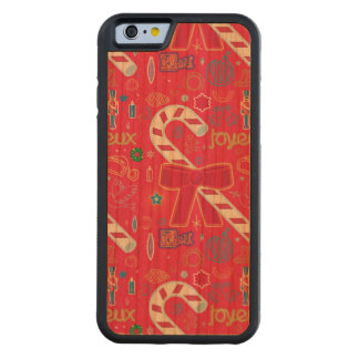 Iconic Candy Cane Carved® Cherry iPhone 6 Bumper Case