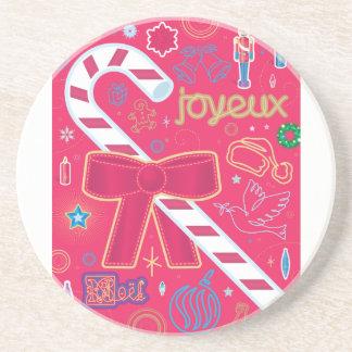 Iconic Candy Cane Coaster