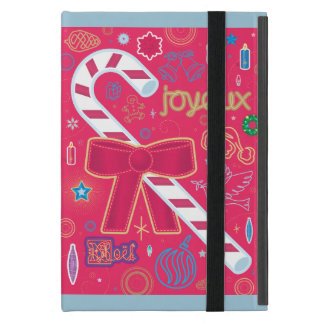 Iconic Candy Cane Cover For iPad Mini