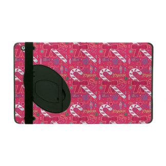 Iconic Candy Cane iPad Folio Case