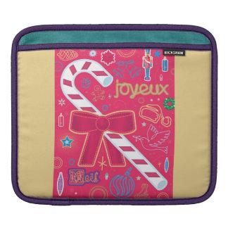 Iconic Candy Cane iPad Sleeve
