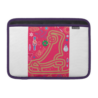 Iconic Candy Cane MacBook Air Sleeves