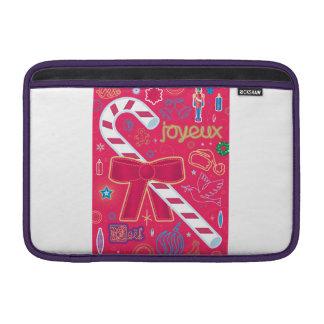 Iconic Candy Cane MacBook Sleeve