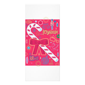 Iconic Candy Cane Rack Card