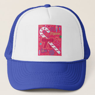 Iconic Candy Cane Trucker Hat