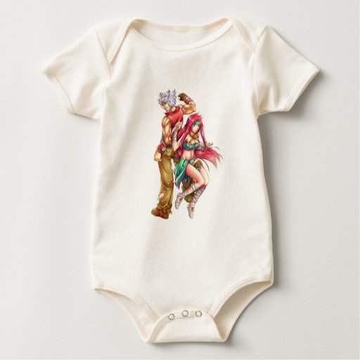 Iconic Characters Baby Bodysuit