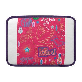 "Iconic Christmas Macbook Air 11"" Horizontal Sleeve For MacBook Air"