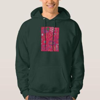 Iconic Christmas Men's Basic Hooded Sweatshirt