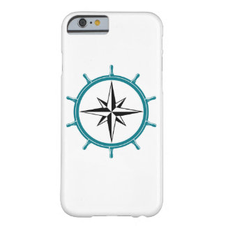 Iconic Compass Logo In Green And Black Barely There iPhone 6 Case
