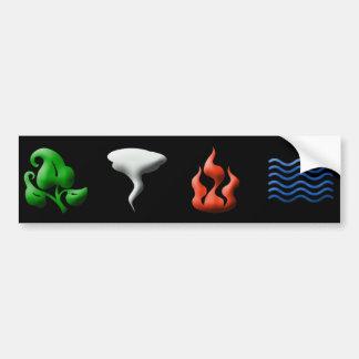 Iconic Elements Bumper Sticker