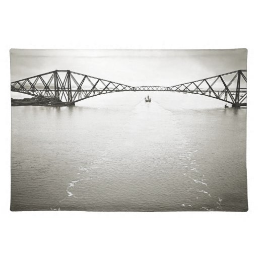 Iconic Forth Bridge Place Mat