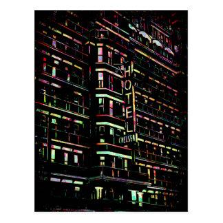 Iconic Hotel Chelsea New York Postcard
