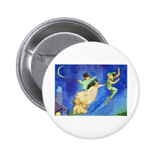 ICONIC IMAGE FROM PETER PAN PINBACK BUTTON