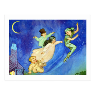 ICONIC IMAGE FROM PETER PAN POSTCARD