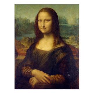 Iconic Leonardo da Vinci Mona Lisa Postcard