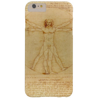 Iconic Leonardo da Vinci Vetruvian Man Barely There iPhone 6 Plus Case