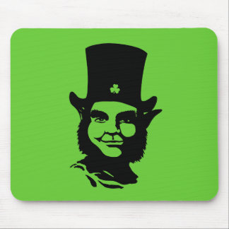 Iconic Leprechaun Mouse Pad