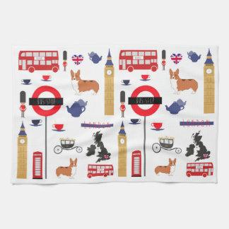 Iconic London Fashionable kitchen towel
