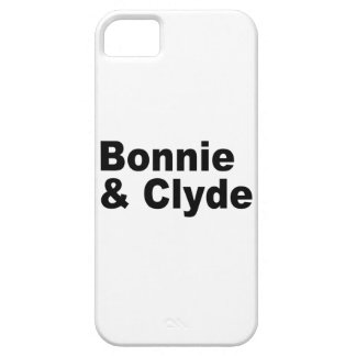 Iconic Names - Bonnie and Clyde iPhone5 iPhone SE/5/5s Case