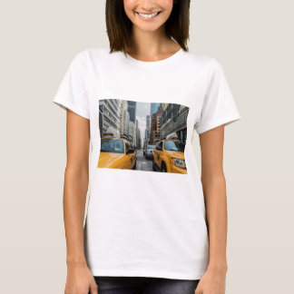 Iconic New York City Yellow Taxi Cabs T-Shirt