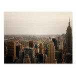 Iconic New York Cityscape Postcard