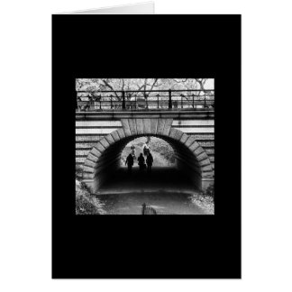 Iconic New York Series: Central Park Arch Card